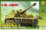 Zvesda - Tiger I Ausf E Early Production 1/35